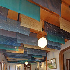 天井の布地 改修後