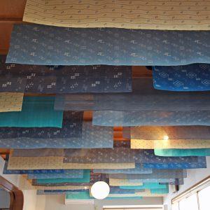 天井の布地