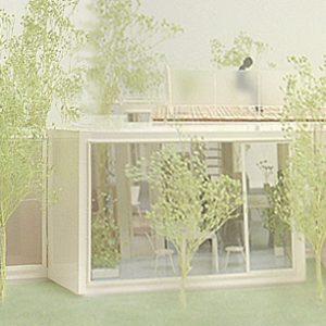 incomplete house 模型写真 全景