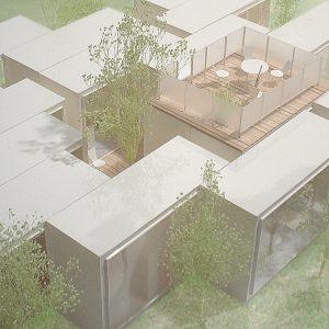 incomplete house 模型写真 近景