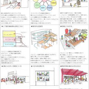 Fujiyoshida-Balcony コンセプトドローイング