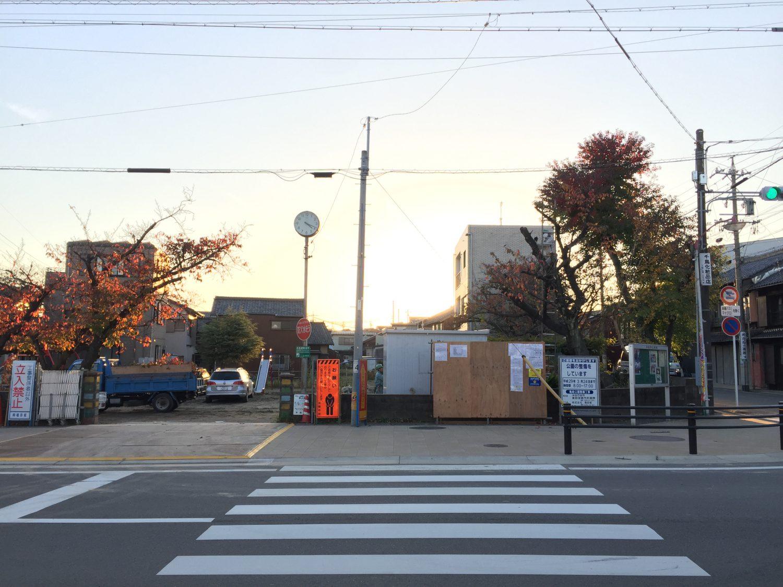 亀崎公園整備計画 着工