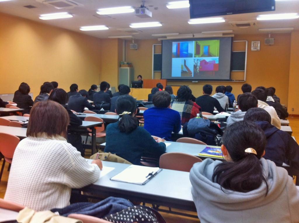 日本福祉大学 特別レクチャー