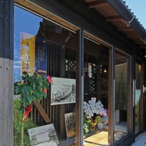 亀崎の蕎麦屋 裏にあるギャラリースペース