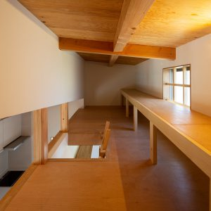 三方向の屋根/annexTK 小屋裏収納